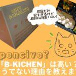 「B-kichen」は高い?そうでない理由を教えます【450kcal・の食べながらやせる冷凍弁当】